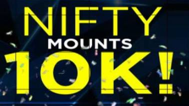 Nifty mounts 10,000: A walk down memory lane