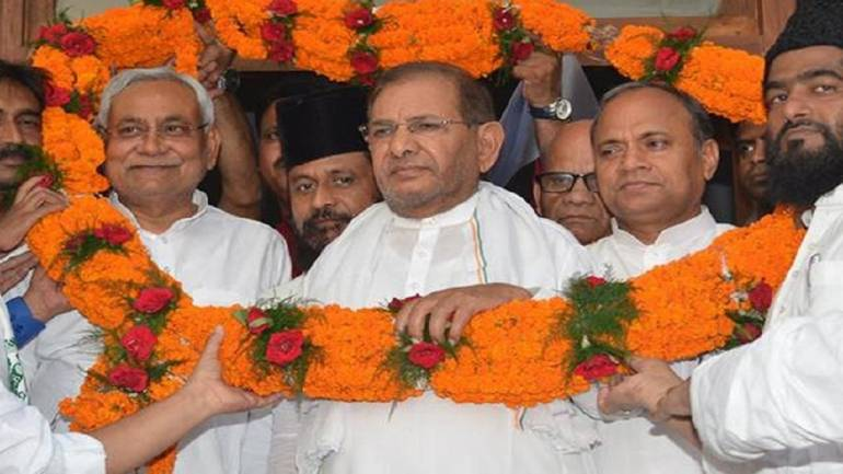 End of Grand Alliance broke trust of 11 cr People of Bihar: Sharad Yadav