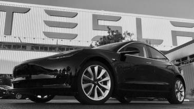 Elon Musk offers first look of Tesla's Model 3 sedan on Twitter