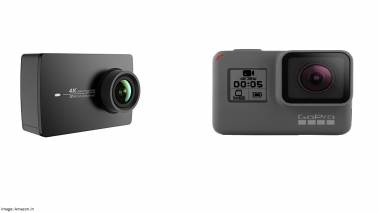 Here's how the newly launched Xiaomi Yi action cameras fare against GoPro's range