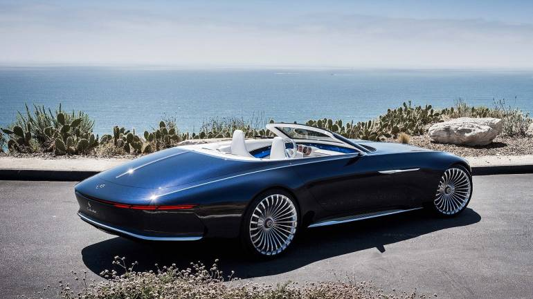 Mercedes-Maybach 6 Cabriolet Concept Unveiled With An Electric Powertrain