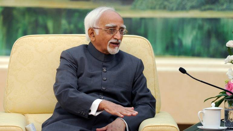 In parting shot, Vice-President Hamid Ansari talks of 'unease' among Muslims