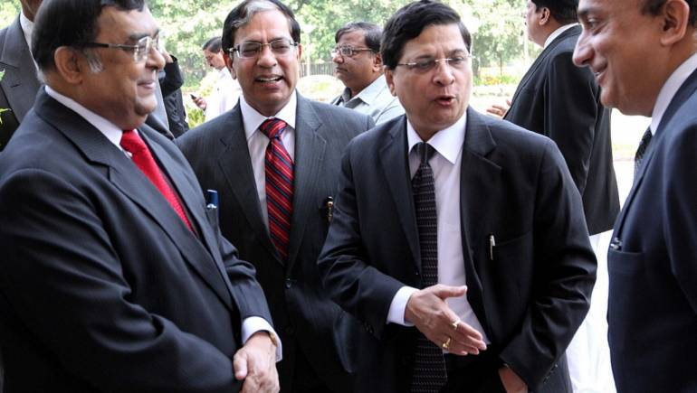 Justice Dipak Misra sworn in as India's Chief Justice