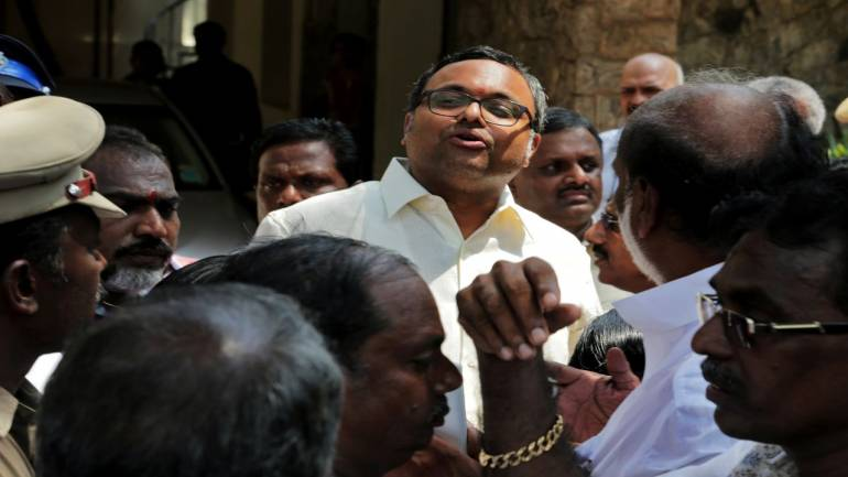 INX media case: Karti Chidambaram appears before CBI for questioning