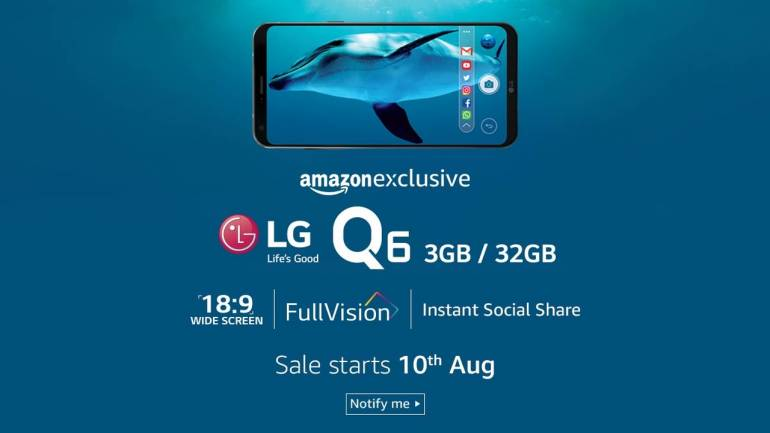 LG to debut Q series phone in India on Thursday; Amazon to be exclusive seller