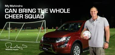 Aussie cricketer Matthew Hayden now a director on Mahindra Automotive Australia