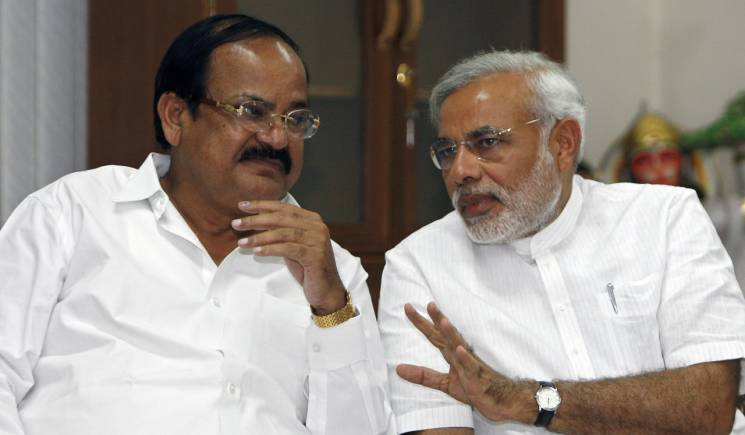Venkaiah Naidu as VP, RS Chairman a tribute to democracy: Narendra Modi