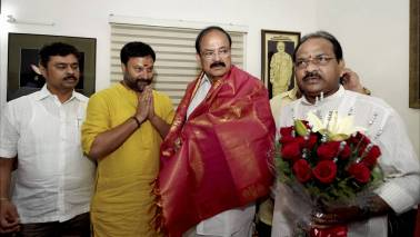 Venkaiah Naidu takes over as Rajya Sabha Chairman, asks parties not to treat each other as enemies