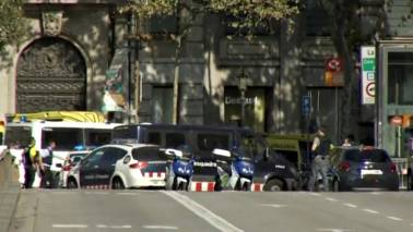 '4 suspected terrorists' shot dead south of Barcelona: Police