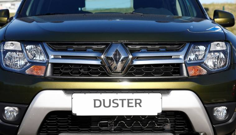 2018 renault duster unveiled.  duster renault duster 2018 facelift revealed ahead of frankfurt motor show with renault duster unveiled