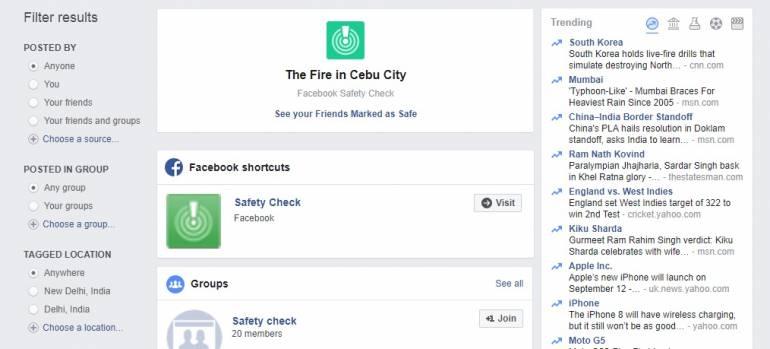 Mumbai Rains: Facebook safety check active, here's how you