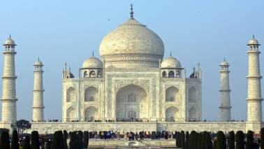 Tension as right wing activists chant Shiva chalisa on Taj Mahal premises