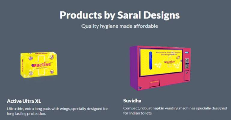 Here are five startups working in the area of women hygiene