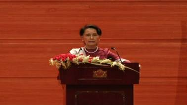 Aung San Suu Kyi blames world conflicts partly on illegal immigration
