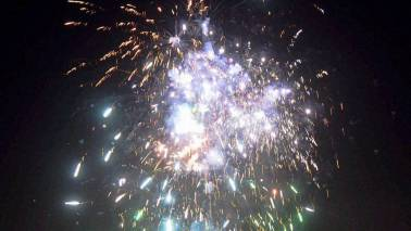Cracker ban goes up in smoke on Diwali night in Delhi