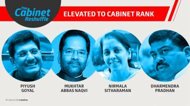 New entrants in the Cabinet: Sitharaman, Goyal, Pradhan and Naqvi recognised for good work