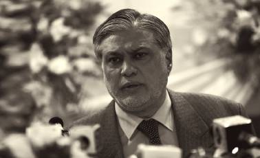 Pakistan FM Ishaq Dar appears before accountability court in Panama scandal