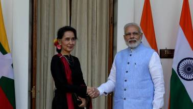 PM Modi advised Aung Suu Kyi not to 'destroy' her image: Sushma Swaraj