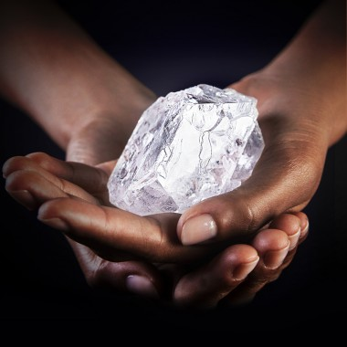 related news. World s second largest diamond  size of a tennis ball  sold for Rs