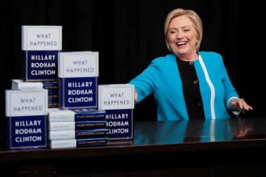 Wasn't ready to run for presidential election against reality TV candidate: Hillary Clinton