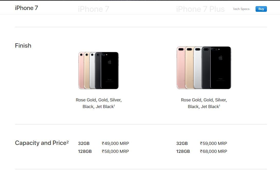 Apple slashes price of iPhone 7, iPhone 7 plus, iPhone 6s in