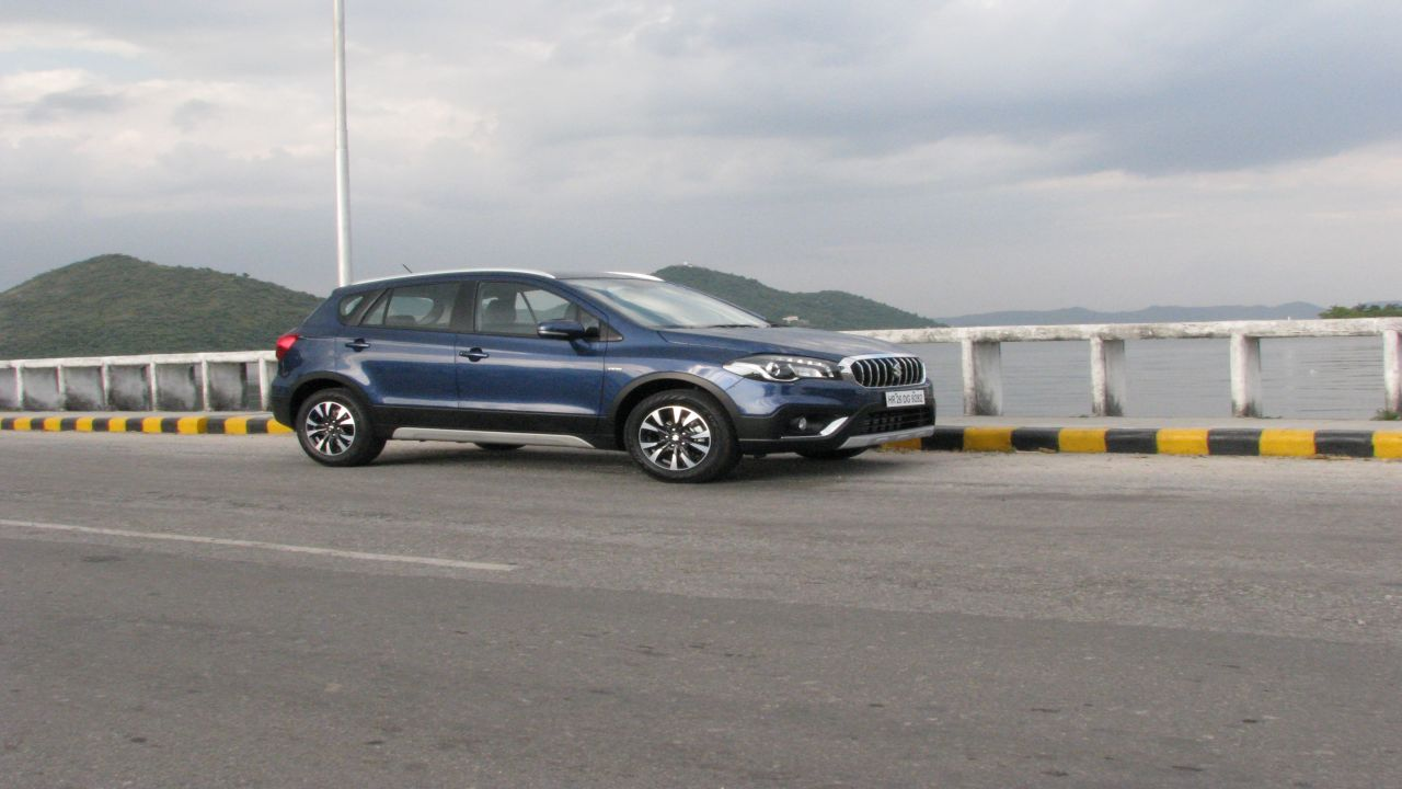 The S-cross came in wearing a bolder look and much more aggressive stance than its predecessor. Its Maruti only true crossover in the premium segment