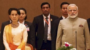 PM Narendra Modi meets Myanmar's State Counsellor Aung San Suu Kyi, discusses India-Myanmar relations