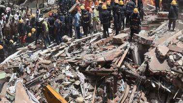 Building collapses in Bhiwandi; many feared trapped