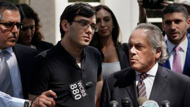 'America's most hated CEO' Martin Shkreli jailed for placing bounty on Hillary Clinton's hair