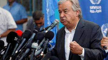 India third worst-hit country by natural disasters: UN chief