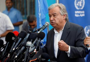 Fossil fuel investment spells 'unsustainable future': UN chief