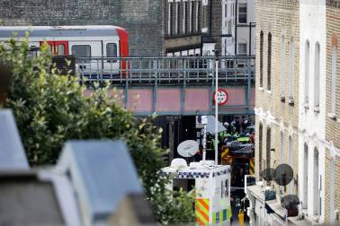 Islamic State group claims London attack