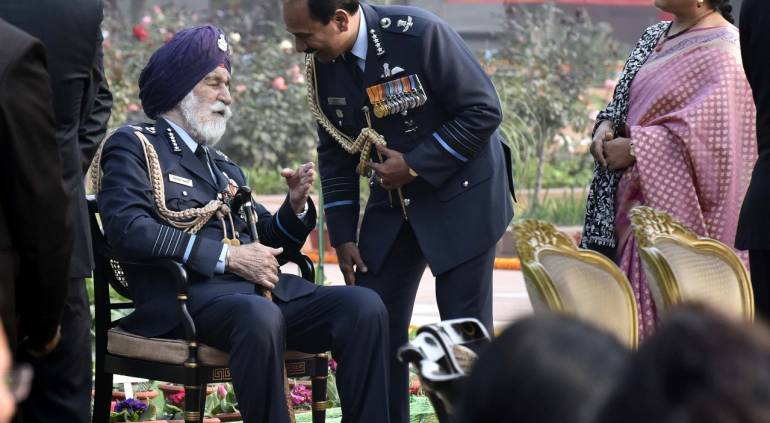 Indian Air Force Marshal Arjan Singh critically ill