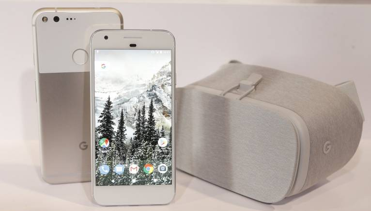 There is a big battle brewing in the tech world  and its not just the  iPhone versus Google Pixel 2. Google s new Augmented Reality kit could be available on your
