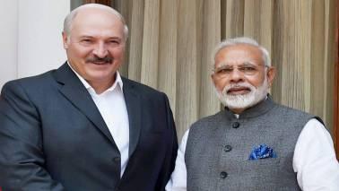 PM Narendra Modi holds talks with Belarus President Alexander Lukashenko