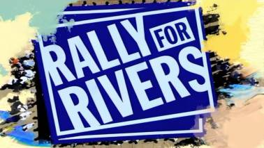 Rally For Rivers: A unique campaign to save India's rivers