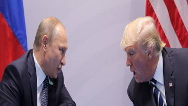 Donald Trump, Vladimir Putin to talk over phone on Tuesday after Assad's visit to Russia: Report