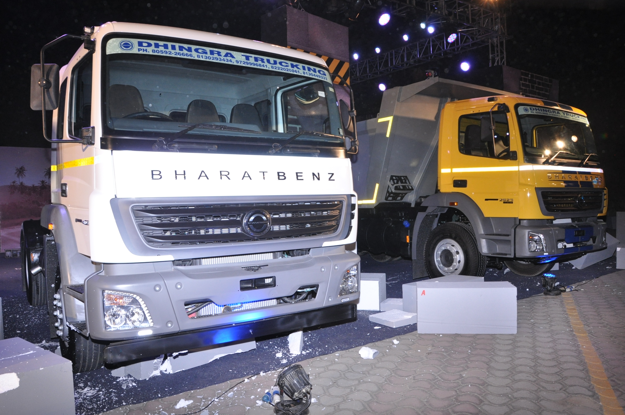 All New BharatBenz HDt range launched in Delhi (1)