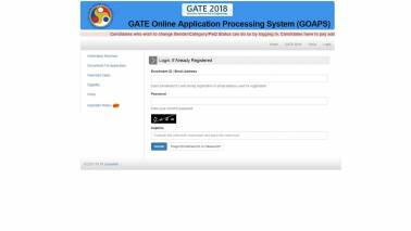 GATE 2018 online application corrections process begins, last date — October 28