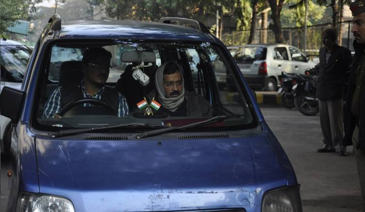CM Kejriwal's Blue Wagon R auto  stolen from right outside Delhi Secretariat