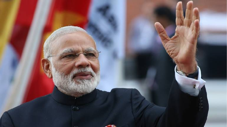 Economy on track due to hard decisions: PM Modi