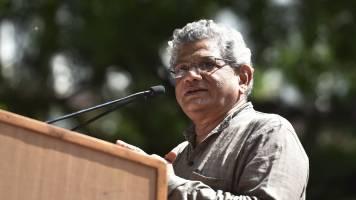 Nothing to celebrate Moody's rating: Sitharam Yechury