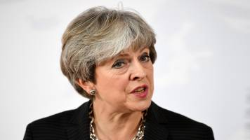 Brexit will not be derailed, says Theresa May
