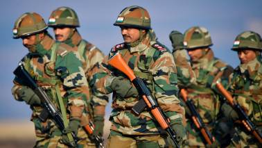 Mock drill marks end of Indo-Kazakhstan military exercise