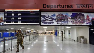 Give us number of passengers who flew from T-1 at IGI: HC to DGCA