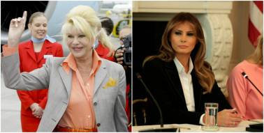 Trump's ex-wife Ivana calls herself First Lady, prompts public reaction from Melania