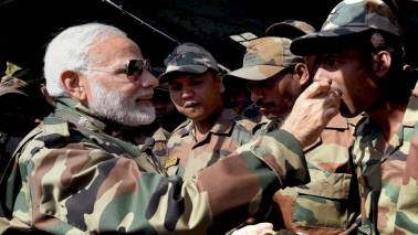 You're family, meeting you is not a formality, PM Narendra Modi tells soldiers during Diwali visit
