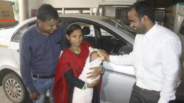 Ola awards free rides for 5 years to a baby born in cab