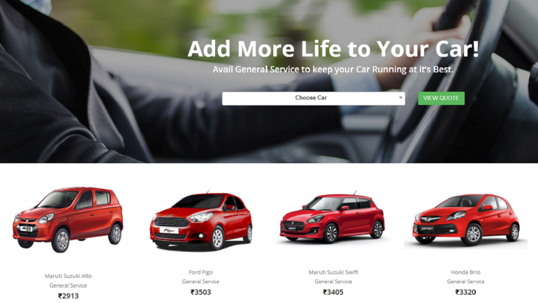 Car Service Startup Pitstop Gets 1 Million From Blume