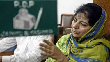 Express Adda: Mehbooba Mufti, candid and unplugged